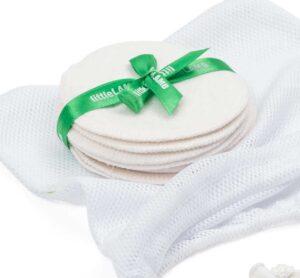 Little Lamb - Coppette Assorbilatte con retina per Bucato