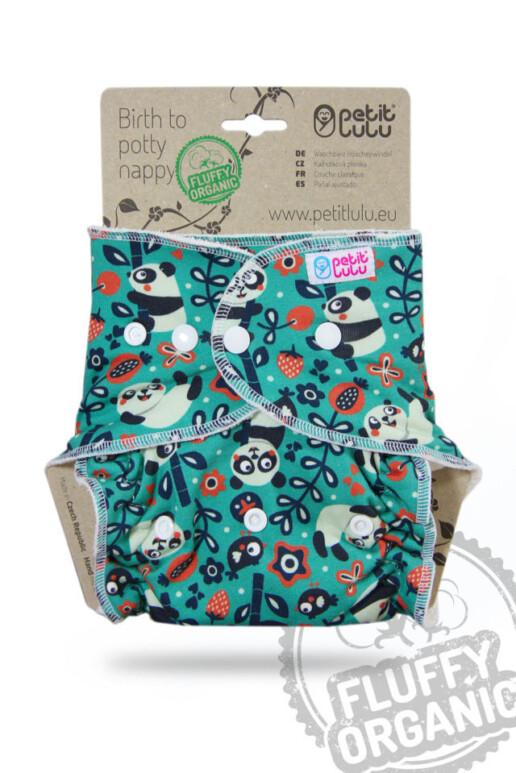 Petit Lulu - Fitted Taglia Unica Fluffy Organic
